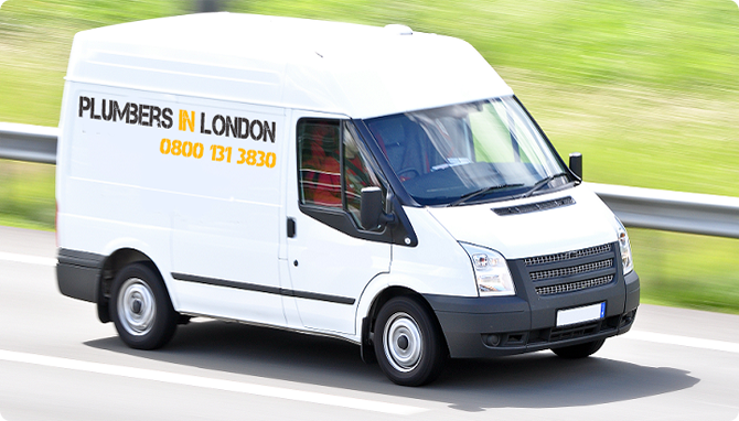 Plumbers In London Van